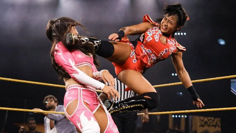 Xia Li seems to be undergoing some changes on NXT