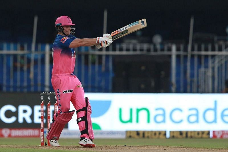Steve Smith anchored the RR innings to perfection in their first IPL 2020 game [PC: iplt20.com]