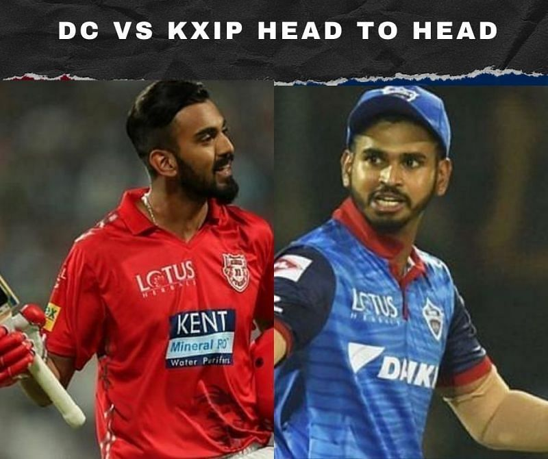 DC vs KXIP Head to Head