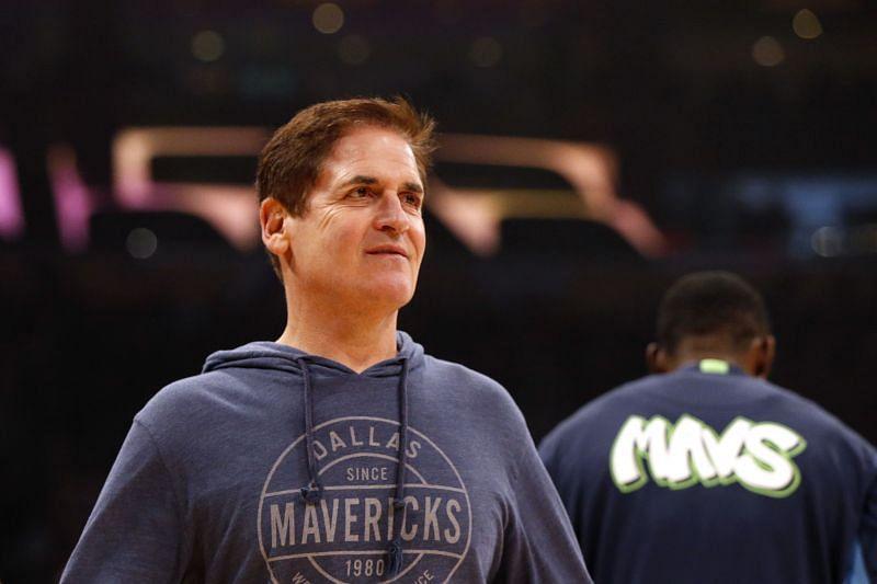 Dallas Mavericks owner Mark Cuban