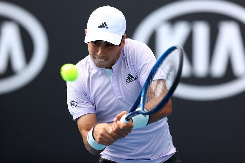 Jaume Munar at the 2020 Australian Open
