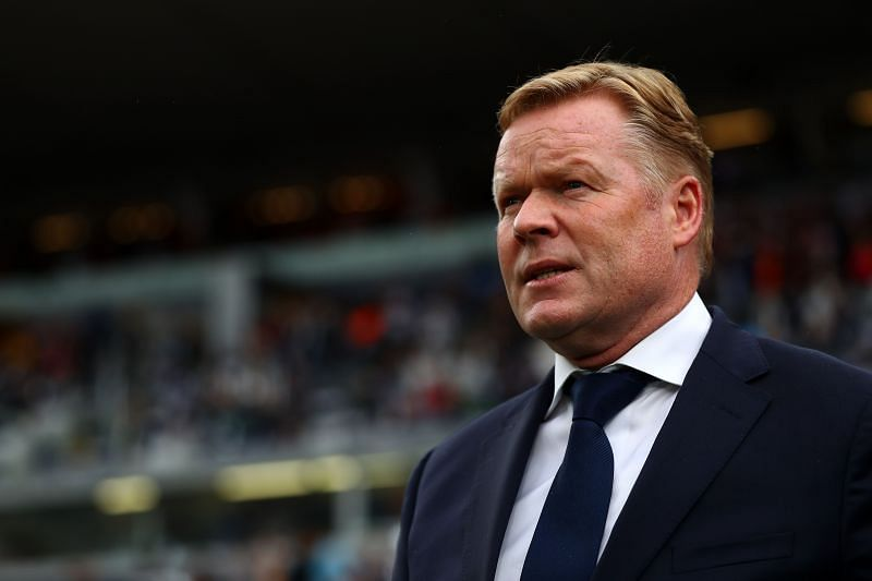 Ronald Koeman is looking to steady the ship at Barcelona