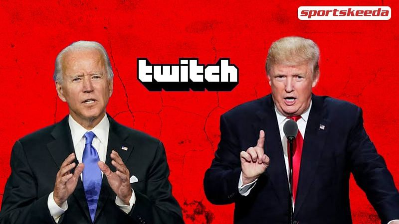 Trump took on Biden, and Twitch watched