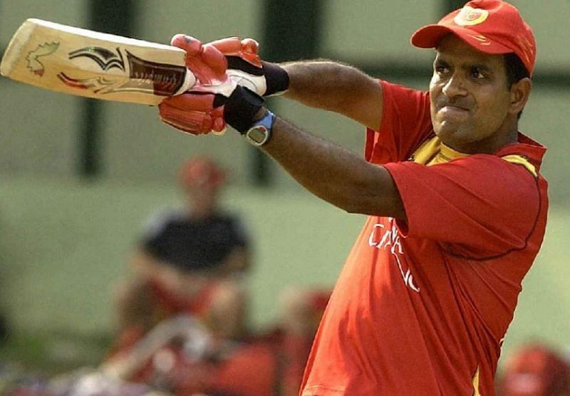 Sunil Joshi during his RCB days