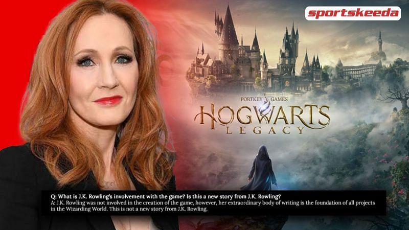JK Rowling is not directly involved with Hogwarts Legacy.