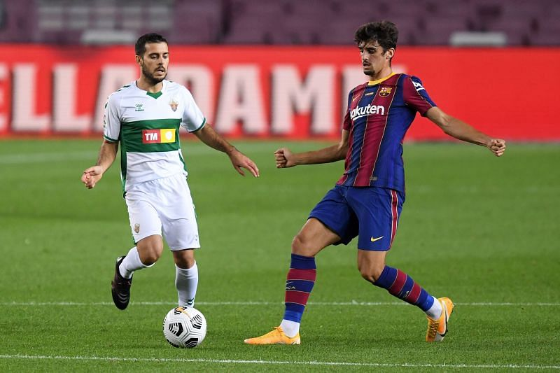 Trincao joined Barcelona from Liga NOS outfit Braga earlier this summer