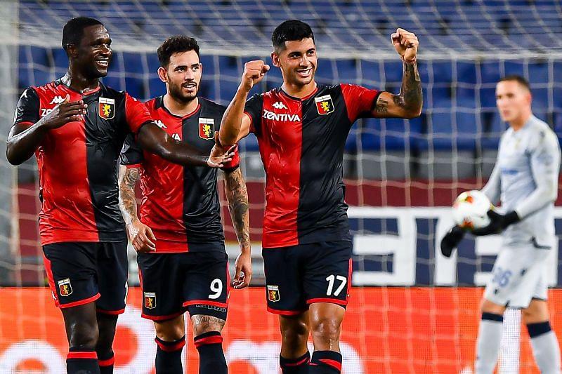 Cristian Romero at Genoa