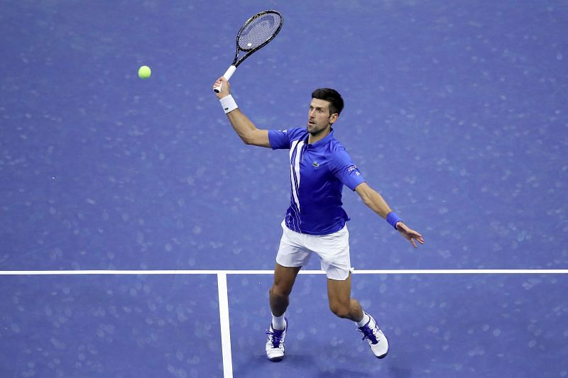 Novak Djokovic was disqualified from US Open for hitting a lineswoman with a ball.