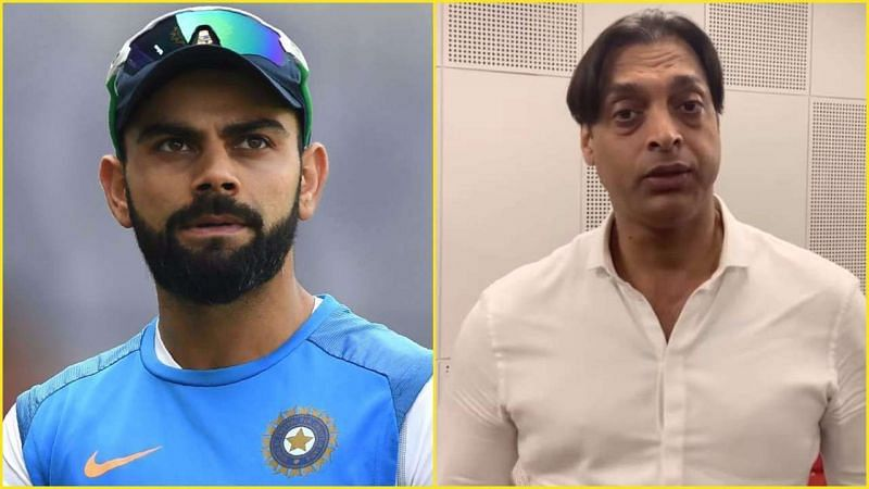 "Shoaib Akhtar said Virat Kohli was a ""brat"" during his initial years in international cricket (Image Credits: DNA India)"