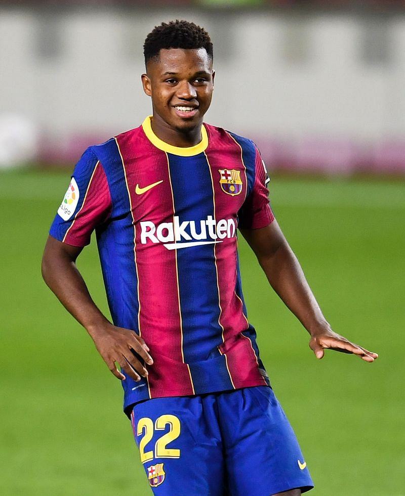 Ansu Fati was on a tear tonight, putting in a MOTM performance to start the season for the Cules.