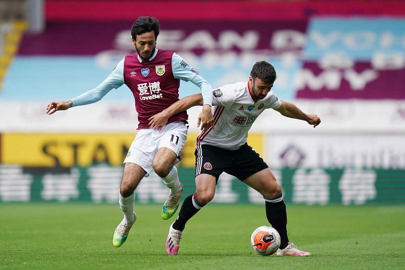 Mcneil (left) has enjoyed a superb season with Burnley