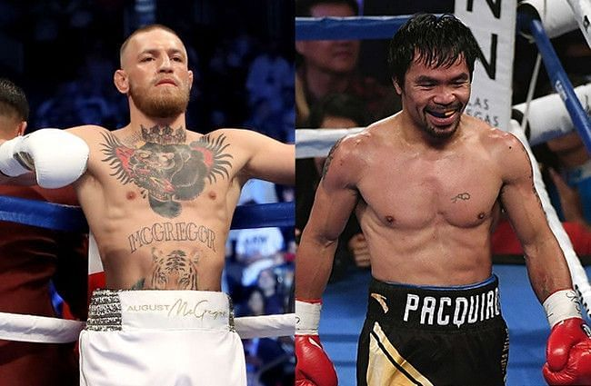 Conor McGregor vs Manny Pacquiao on the cards?