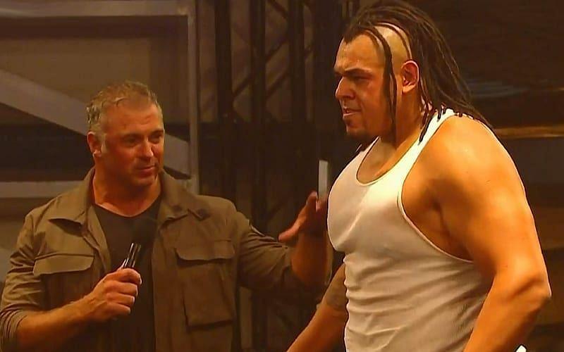 Shane McMahon and Dabba-Kato