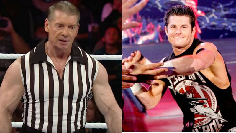 Vince McMahon, the WWE Chairman as a referee; Evan Bourne, now known as Matt Sydal