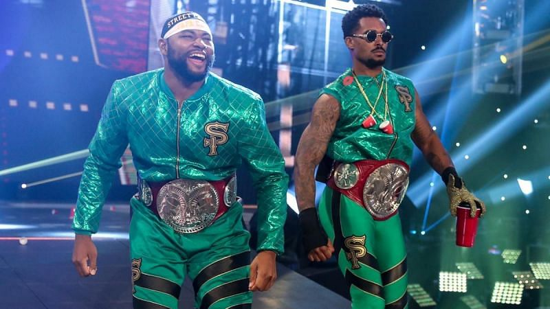 Will Street Profits lose the RAW Tag Team Championship at Clash of Champions?