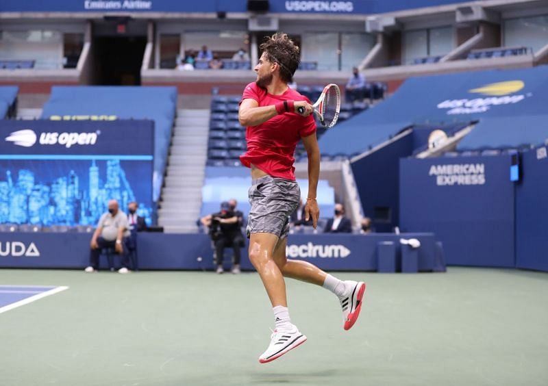 Dominic Thiem enjoyed a scenic route at the US Open