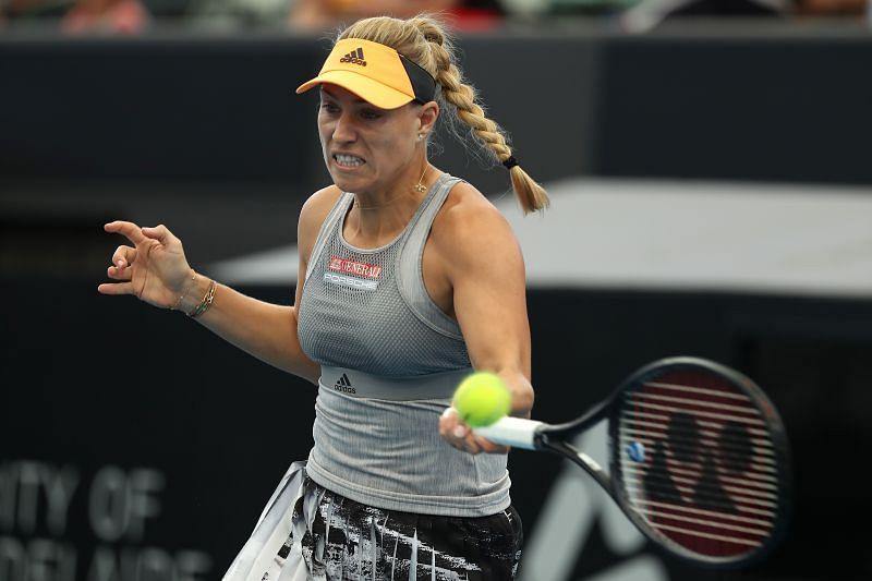A determined Angelique Kerber will present a different challenge for Jennifer Brady