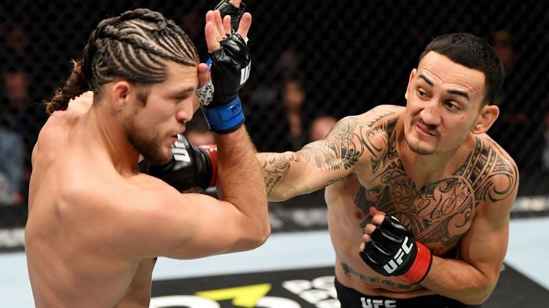 Brian Ortega was the recipient of a one-sided beat-down at the hands of Max Holloway