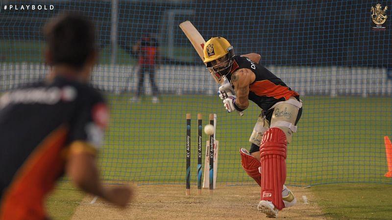 Virat Kohli seems to be in good nick ahead of IPL 2020 [PC: RCB Twitter]
