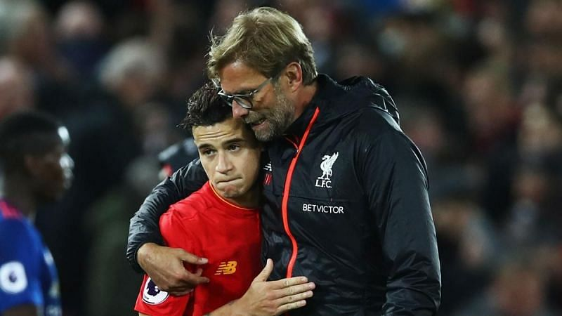 The departure of Philippe Coutinho proved to be a blessing in disguise for Jurgen Klopp.