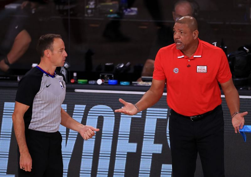 Doc Rivers (right)