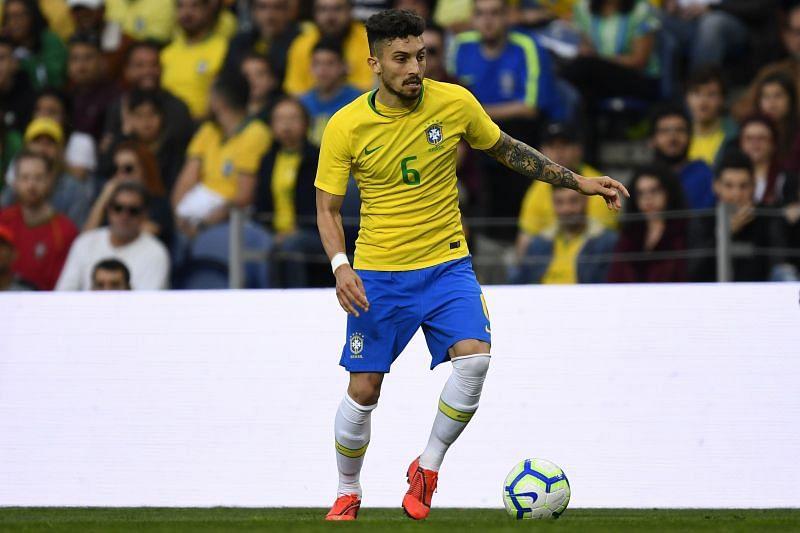 Brazilian international Alex Telles