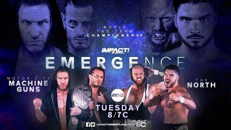 IMPACT Wrestling Emergence Night One Results