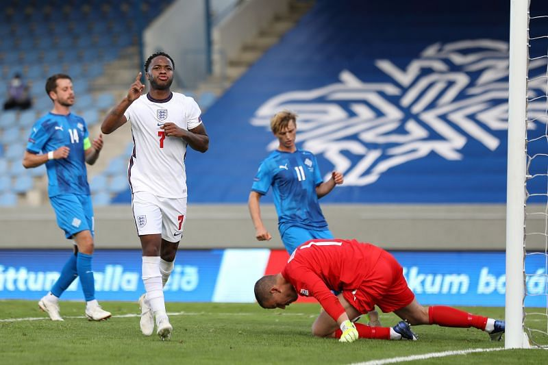 England defeated Iceland 0-1, thanks to Raheem Sterling