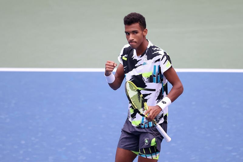 Felix Auger-Aliassime at the 2020 US Open