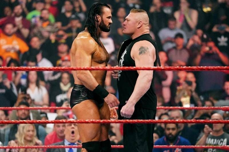 Drew McIntyre defeated Brock Lesnar at WrestleMania 36 to become the WWE Champion