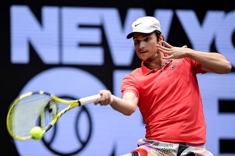 Miomir Kecmanovic at the 2020 New York Open