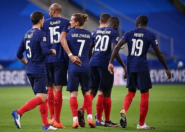 France have a wide pool of talented players to pick and choose from
