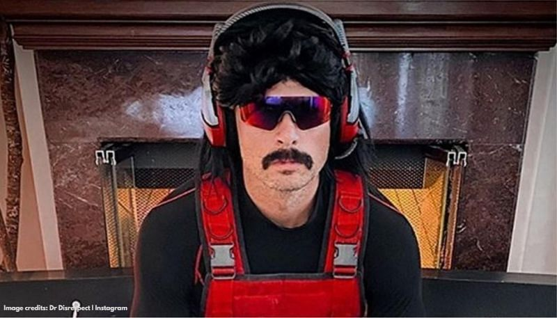 Former Twitch streamer Dr Disrespect (Image via republic world)