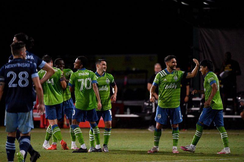 Seattle Suunders beat San Jose Earthquakes 7-1 in their last game