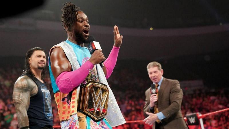 Kofi Kingston says he plans to talk to Roman Reigns upon his return