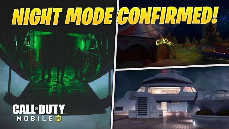 This would be the first time that COD Mobile devs will introduce night mode maps (Image credits: Grow Positive YouTube)