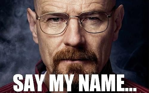 Walter White from Breaking Bad and the