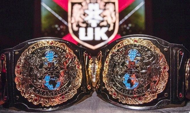 NXT UK Tag Team gold