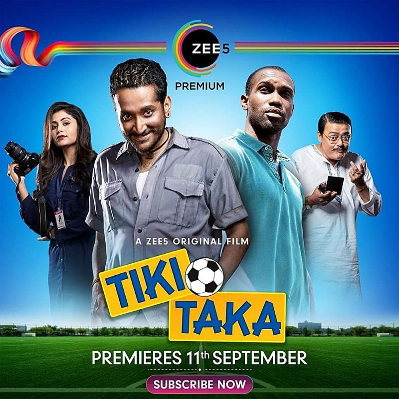 Poster of the movie Tiki Taka.