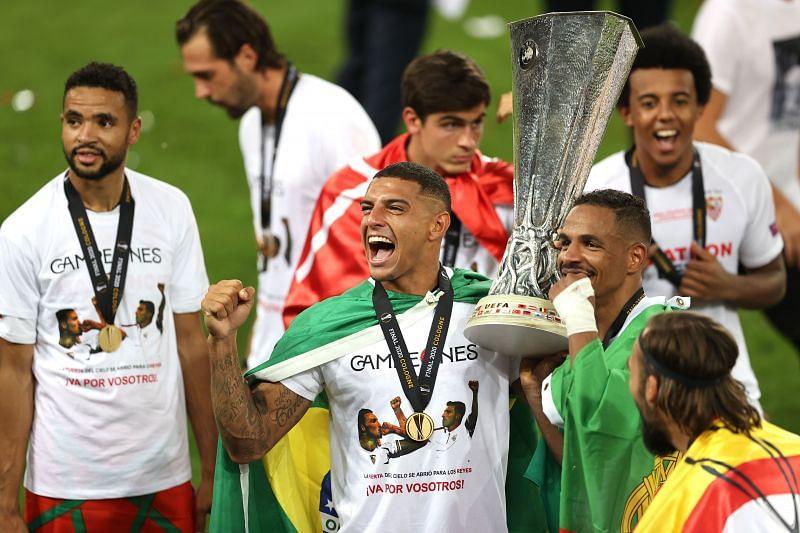 Carlos won the UEFA Europa League with Sevilla