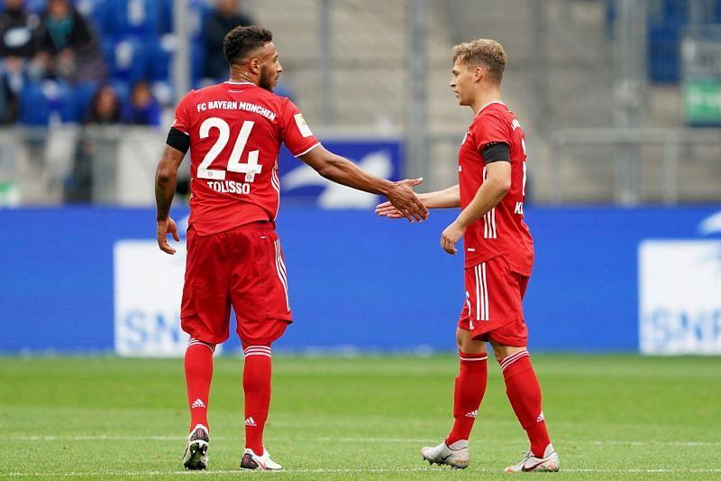 Joshua Kimmich scored Bayern Munich