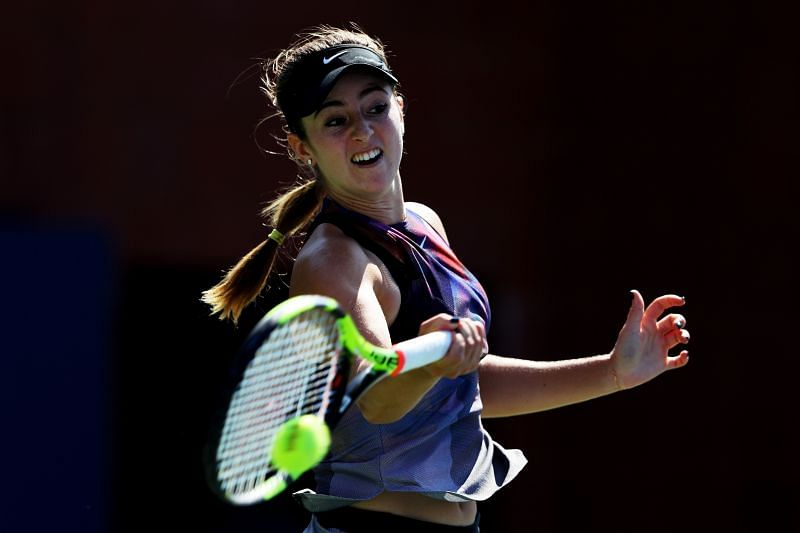 CiCi Bellis faces Jennifer Brady in the second round of the US Open