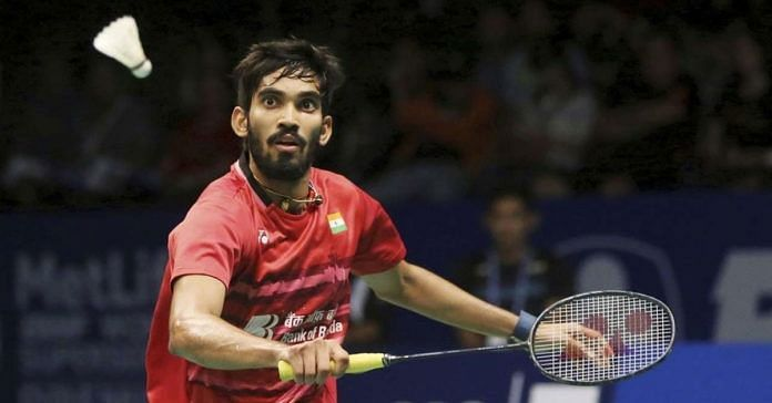 Kidambi Srikanth to shoulder the Indian hope in the Thomas Cup