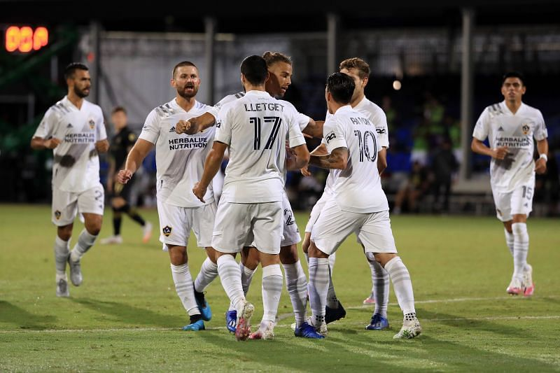 Los Angeles Galaxy have won their last two matches in the MLS