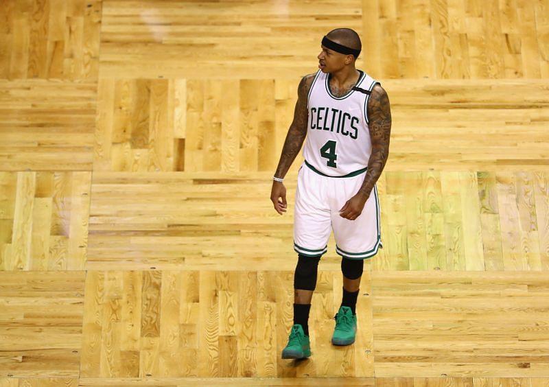 Thomas was a scoring machine with the Celtics