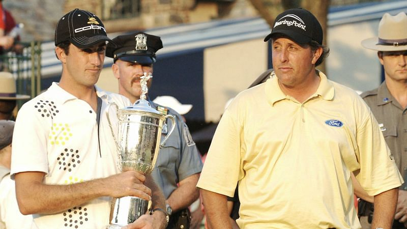 Geoff Ogilvy Phil Mickelson