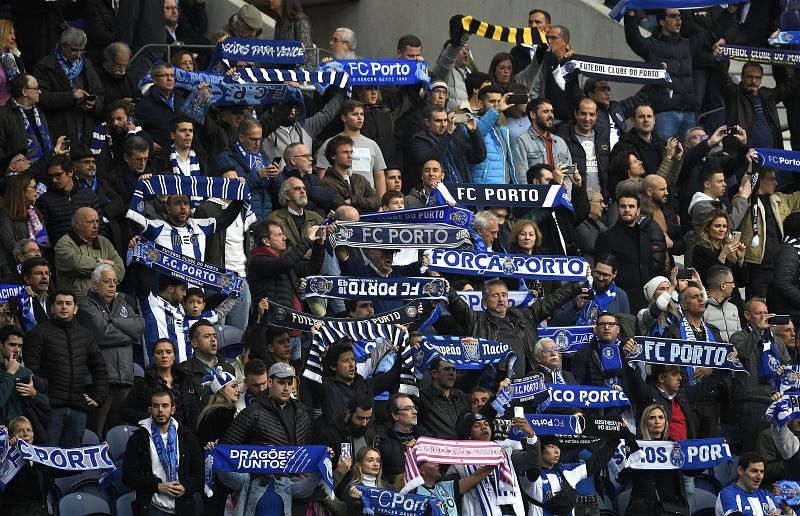 FC Porto fans will be hoping to beat Benfica to the Primeira Liga title