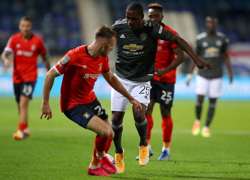 Ighalo is far from the ideal Anthony Martial understudy