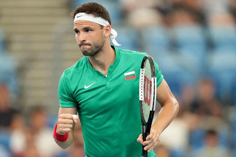 Dimitrov will be looking to improve his serving numbers ahead of the bigger matches