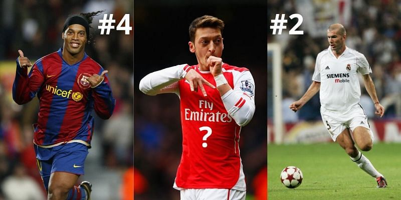 Top 10 centre-attacking midfielders of all time